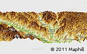 Physical Panoramic Map of Dashutangzhan