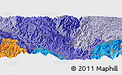 """Political Panoramic Map of the area around 22°53'22""""N,103°46'30""""E"""