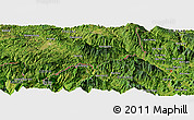 Satellite Panoramic Map of Je Siao Ping