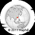 Outline Map of 523000, rectangular outline