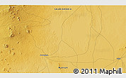 Physical 3D Map of Al Muwayh
