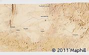 Satellite 3D Map of Tamanrasset