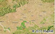Satellite Map of Bareli