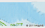 """Physical 3D Map of the area around 22°53'22""""N,78°58'29""""W"""