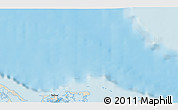 """Shaded Relief 3D Map of the area around 22°53'22""""N,78°58'29""""W"""