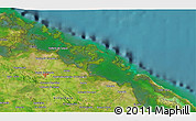 Satellite 3D Map of Sagua la Grande