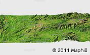 "Satellite Panoramic Map of the area around 22°53'22""N,97°49'29""E"