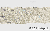 Shaded Relief Panoramic Map of I-se