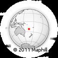 Outline Map of Bouloupari, rectangular outline