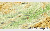 Physical 3D Map of Belmiro Braga