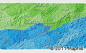 Political 3D Map of Boa Vista