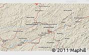 Shaded Relief 3D Map of Belmiro Braga