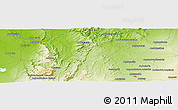 Physical Panoramic Map of Ankazoabo