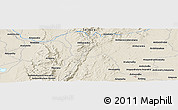 Shaded Relief Panoramic Map of Ankazoabo