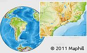 Physical Location Map of Ribeiro
