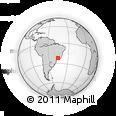 Outline Map of Ribeiro, rectangular outline