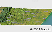 "Satellite Panoramic Map of the area around 22° 3' 23"" S, 47° 40' 29"" E"