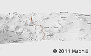Physical Panoramic Map of Toconce