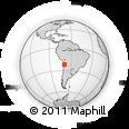 Outline Map of Puntillas, rectangular outline