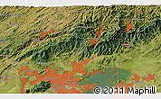 Satellite 3D Map of Parque Dom Bosco