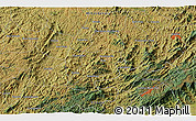 """Satellite 3D Map of the area around 22°33'23""""S,45°49'30""""W"""