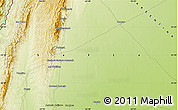 Physical Map of Tartagal