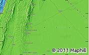 Political Map of Tartagal