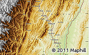 Physical Map of Bermejo