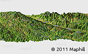 Satellite Panoramic Map of Diansuotang