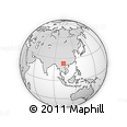 Outline Map of Pailoupo, rectangular outline