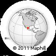 Outline Map of Fresnillo, rectangular outline
