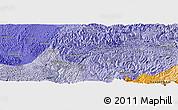 Political Panoramic Map of Kaihua
