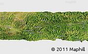 Satellite Panoramic Map of Kaihua