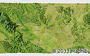 """Satellite 3D Map of the area around 23°23'16""""N,108°52'30""""E"""