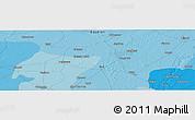 Political Panoramic Map of Gāndhīnagar