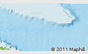 """Physical 3D Map of the area around 23°23'16""""N,79°49'29""""W"""
