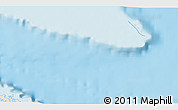 """Shaded Relief 3D Map of the area around 23°23'16""""N,79°49'29""""W"""