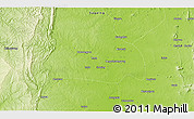 """Physical 3D Map of the area around 23°23'16""""N,95°16'30""""E"""