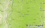 """Physical Map of the area around 23°23'16""""N,95°16'30""""E"""