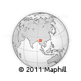 Outline Map of Manton, rectangular outline