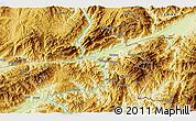 Physical 3D Map of Konglong