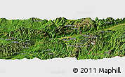 Satellite Panoramic Map of Awsai