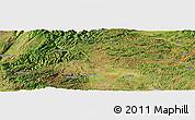 Satellite Panoramic Map of Dajiayi