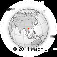 Outline Map of Shemuna Section, rectangular outline