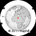 Outline Map of Emi Madema, rectangular outline