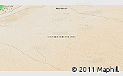 """Satellite 3D Map of the area around 23°53'5""""N,54°28'30""""E"""