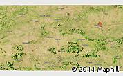 Satellite 3D Map of Hesālong