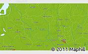 Physical 3D Map of Bāze Kākrāil