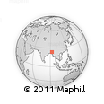 Outline Map of Zemabawk North Presbyterian Church, rectangular outline
