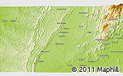 """Physical 3D Map of the area around 23°53'5""""N,95°16'30""""E"""